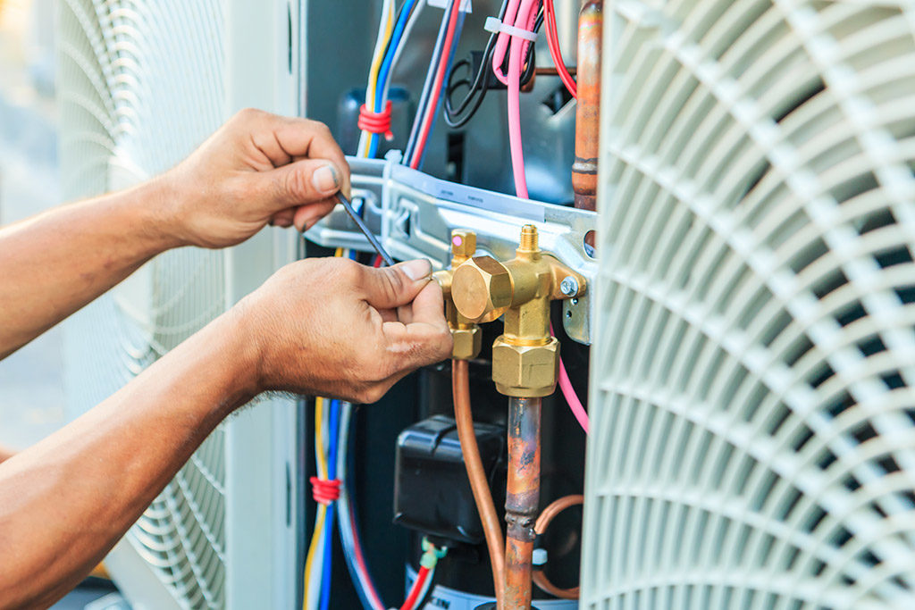 cabinet air conditioner service